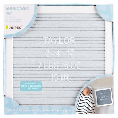 Pearhead Letterboard Set