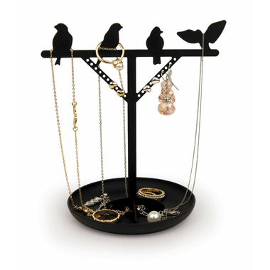 Kikkerland Jewelry Stand Bird