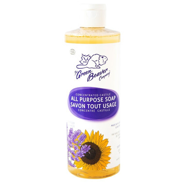 Green Beaver Concentrated All Purpose Castile Soap