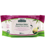 Aleva Naturals Bamboo Travel Size Baby Wipes