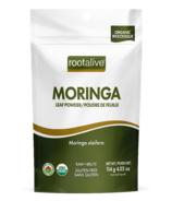 Poudre de feuilles de moringa biologique Rootalive