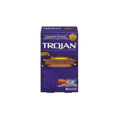 Trojan Naked Sensations Fire & Ice