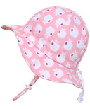 Twinklebelle Grow-With-Me Baby Sun Hat Pink Apple