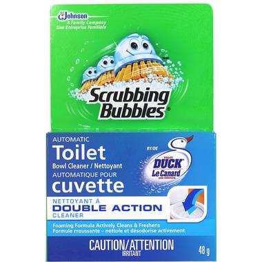 Scubbing Bubbles Toilet Duck Puck