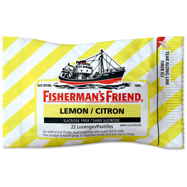 Fisherman\'s Friend Lemon Lozenges