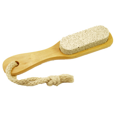 Axel Kraft Pumice Stone With Wooden Handle
