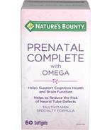 Nature's Bounty Prenatal Complete with Omega
