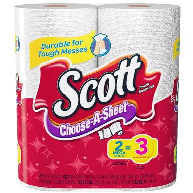 Scott Paper Towels Choose-A-Size