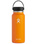 Hydro Flask Wide Mouth with Flex Cap Clementine