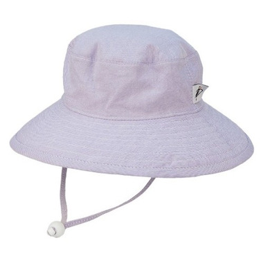 Puffin Gear Sunbaby Hat Oxford Lilac