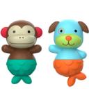 Skip Hop Zoo Mix & Match Flippers Monkey & Dog