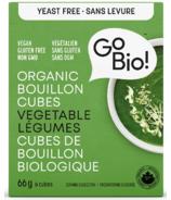 GoBIO! Organic Yeast-Free Vegetable Bouillon Cubes