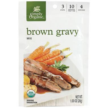 Simply Organic Brown Gravy Seasoning Mix