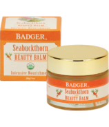 Badger Seabuckthorn Beauty Balm for Intensive Nourishment