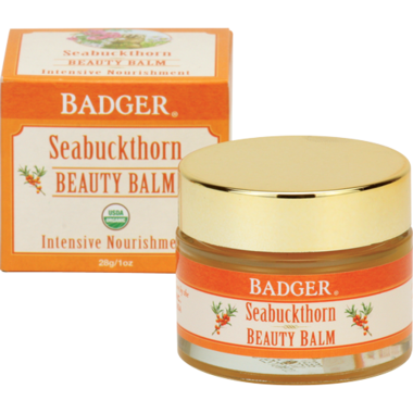 Badger Seabuckthorn Beauty Balm for Intensive Nourishment