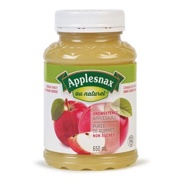 Applesnax Unsweetened Applesauce