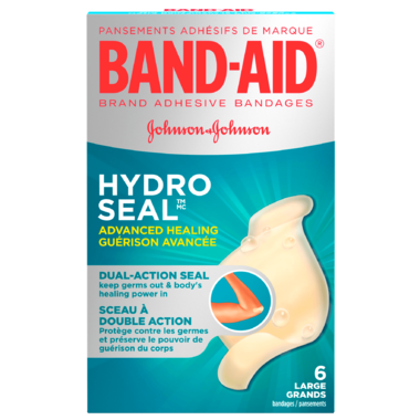 Band-Aid Advanced Healing Cuts & Scrapes Bandages