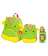 Skip Hop Little Kid School Day Bundle Dragon