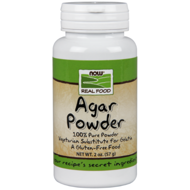 NOW Real Food Pure Agar Powder