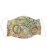 Snug As A Bug Cloth Face Mask Batik Sand