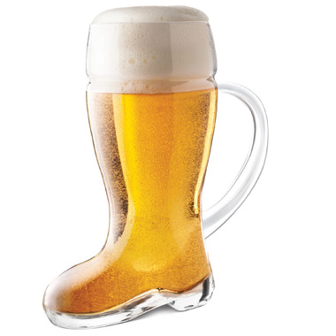 Final Touch Das Beer Boot With Handle