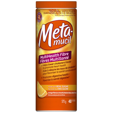 Metamucil Multi Health Fibre Smooth Texture Powder
