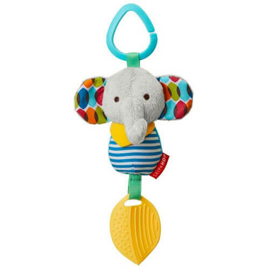 Skip Hop Bandana Buddies Chime & Teether Toy Elephant