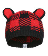 Kombi The Cutie Infant Hat Red Buffalo Plaid