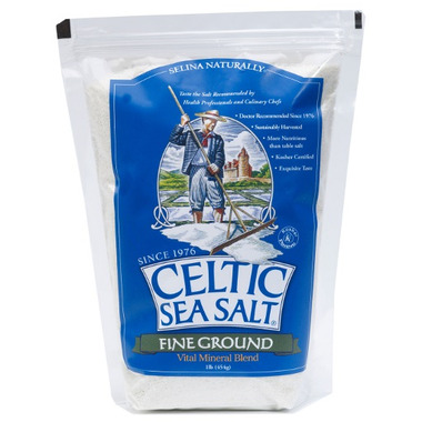 Celtic Sea Salt Fine Ground Sea Salt