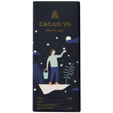 Cacao 70 Lights Out Dark Chocolate