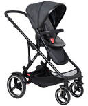 Phil & Teds Voyager Buggy + Liner Charcoal