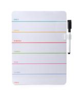 Kikkerland Daily Dry Erase Board