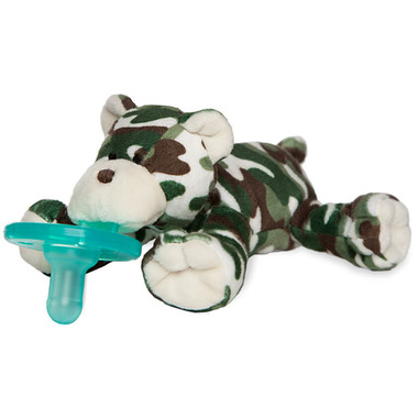 WubbaNub Limited Edition Camo Bear Plush Pacifier