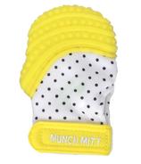 Munch Mitt Mini Teething Mitten Yellow