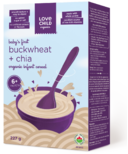Love Child Organics Buckwheat & Chia Organic Infant Cereal