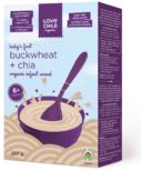 Love Child Organics Buckwheat & Chia Organic Infant Cereal