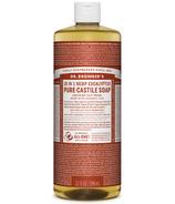 Dr. Bronner's Organic Pure Castile Liquid Soap Eucalyptus 32 Oz