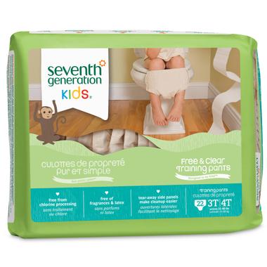 Seventh Generation Kids Free & Clear Training Pants