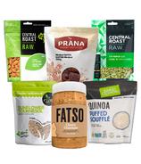 Fatso Puffed Quinoa, Date + Peanut Butter Bars Recipe Bundle