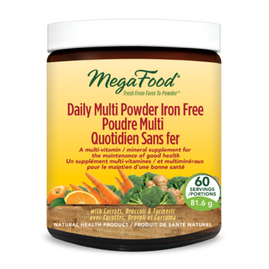 MegaFood Daily Multi Powder Iron Free