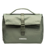 Corkcicle Nona Roll-Top Lunch Bag Olive