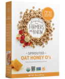 One Degree Oat Honey O's Cereal