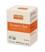 Rootalive Organic Turmeric Chai Tea