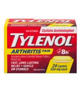 Caplets Tylenol contre la douleur arthritique