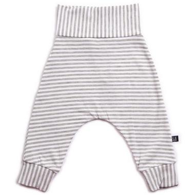 Vonbon Harem Pants Grey Stripe