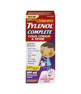 Junior Strength Tylenol Complete Cold, Cough & Fever Liquid