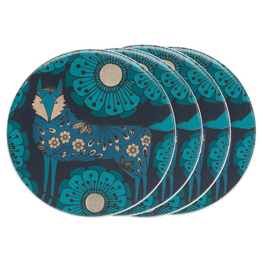 Danica Studio Ceramic Coaster Set Birdland
