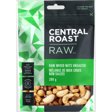 Central Roast Raw Mixed Nuts Unsalted