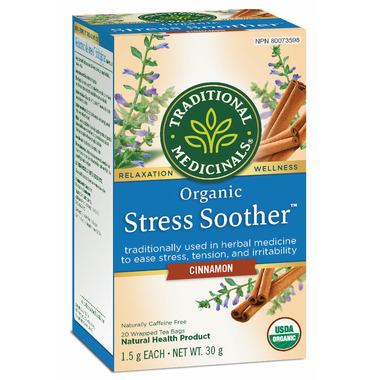 Traditional Medicinals Organic Stress Soother Cinnamon
