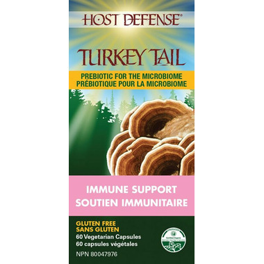 Host Defense Turkey Tail (Trametes Versicolor) Capsules